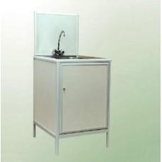 Стол лабораторный с мойкой СТМ-1 555x655x850мм