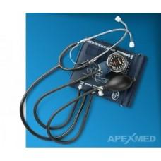 Тонометр (прибор для измерения артериального давления механический) со стетоскопом в комплекте AT-13, манж. 50х14 см