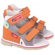 Детские ортопедические сандалии Luomma Lm102 с открытым носком