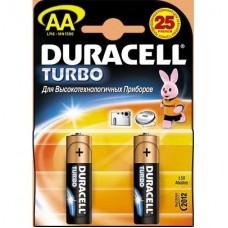Элемент питания (батарейка) Duracell LR6-2BL Turbo AA 2шт.