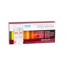 Тест на выявление наркотиков по моче МУЛЬТИ 10 (10 видов)
