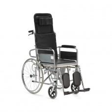 Кресло-коляска с туалемом FS609GC